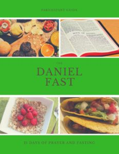 The Daniel Fast Book Cover 8.55x10.99 in