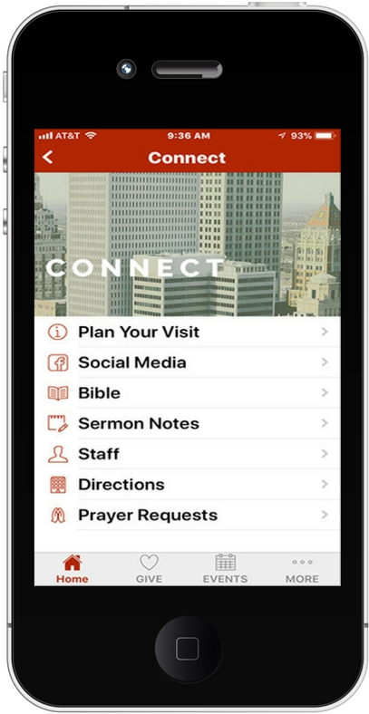 iPhone App Connect