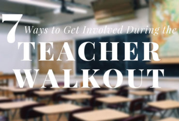How to Get Involved During the Oklahoma Teacher Walk Out