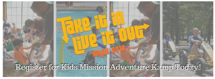 Register for Kids Mission Adventure Kamp