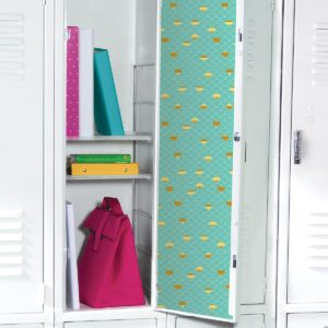 Assortment of Locker Decorations and Organization