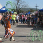 Talihina Fall Foilage Festival Indian Hoop Dancing