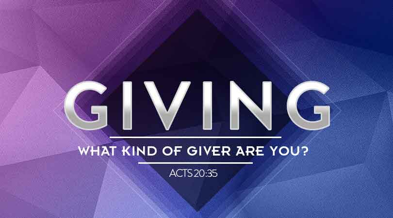 Giving: What Kind of Giver Are You?