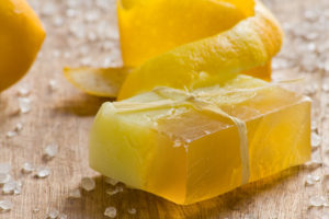 Lemon scented soap