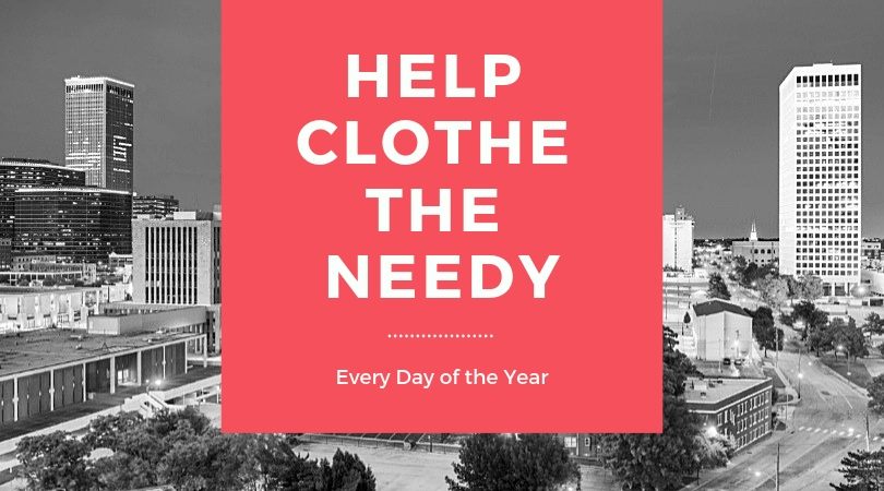 help clothe the needy