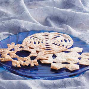 Snowflake Tortillas