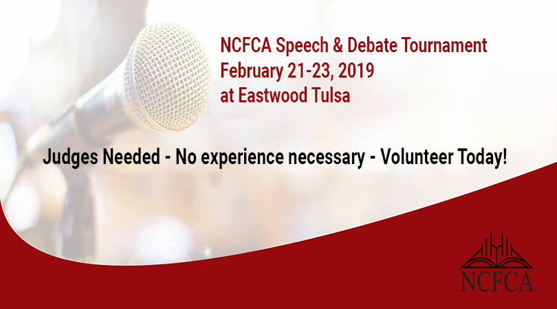 NCFCA Volunteers Needed 810x450