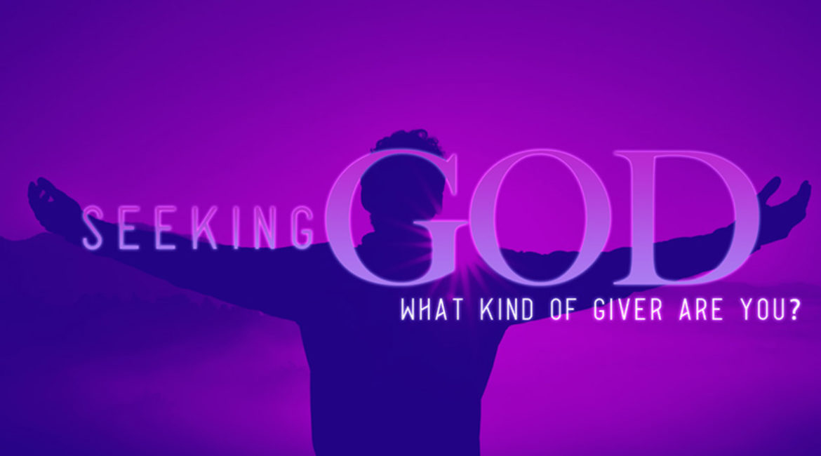 Seeking God: Giving