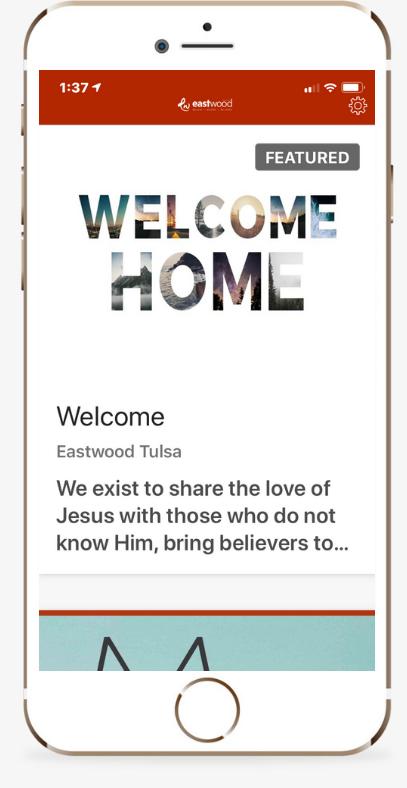 EWTulsa App Text