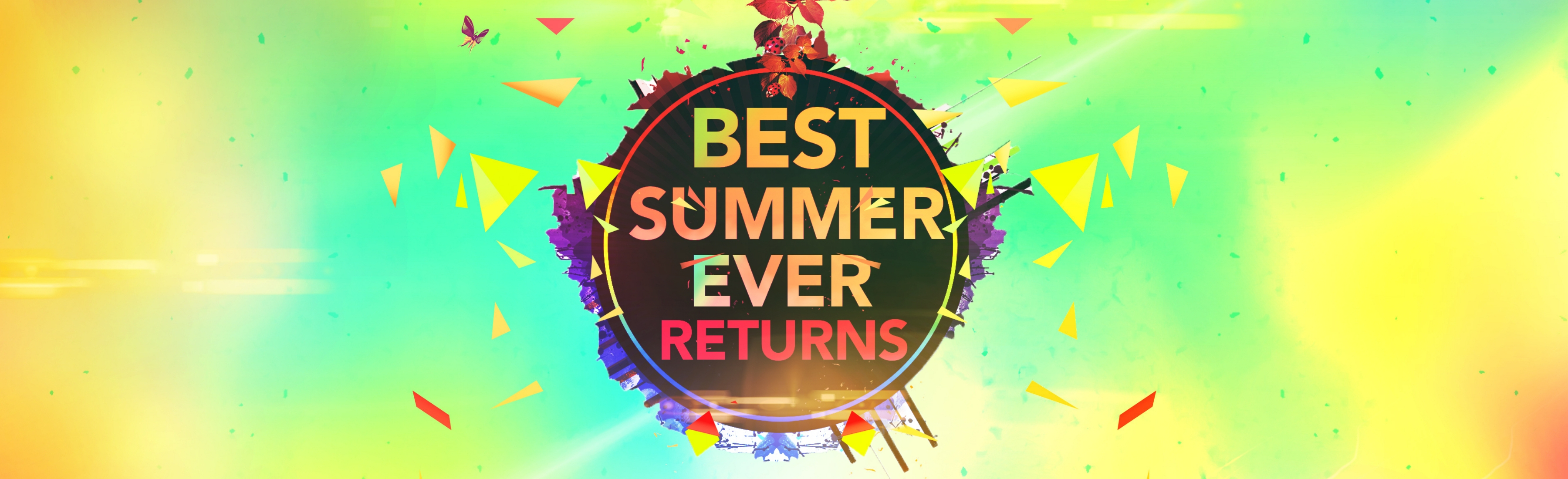 Best Summer Ever Returns 3600x1100