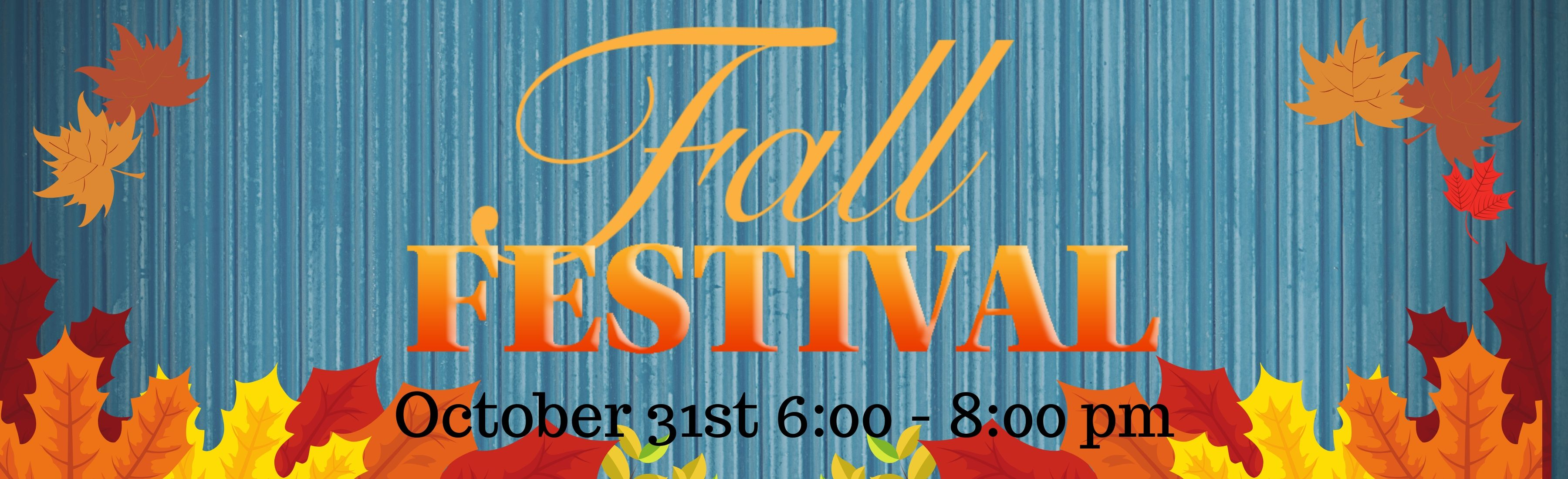 Fall Festival 3600x1100