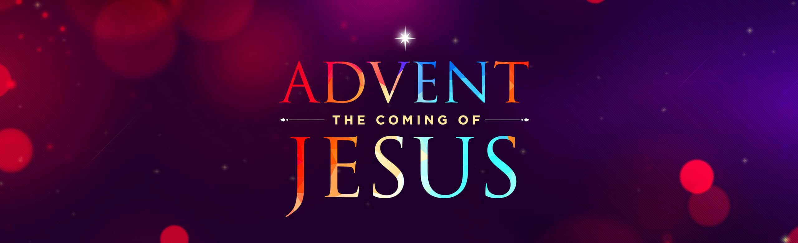 Advent The Coming of Jesus Slider 3600x1100