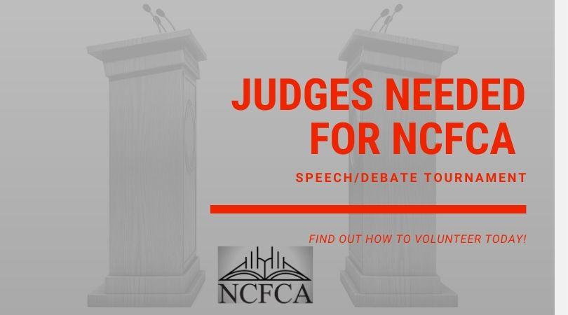 Judges for NCFCA Speech_Debate Tournament