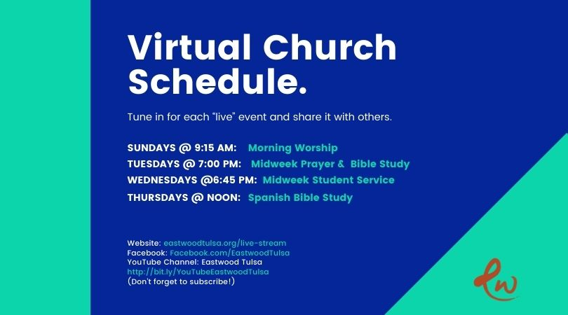 Virtual Church Schedule 810x450