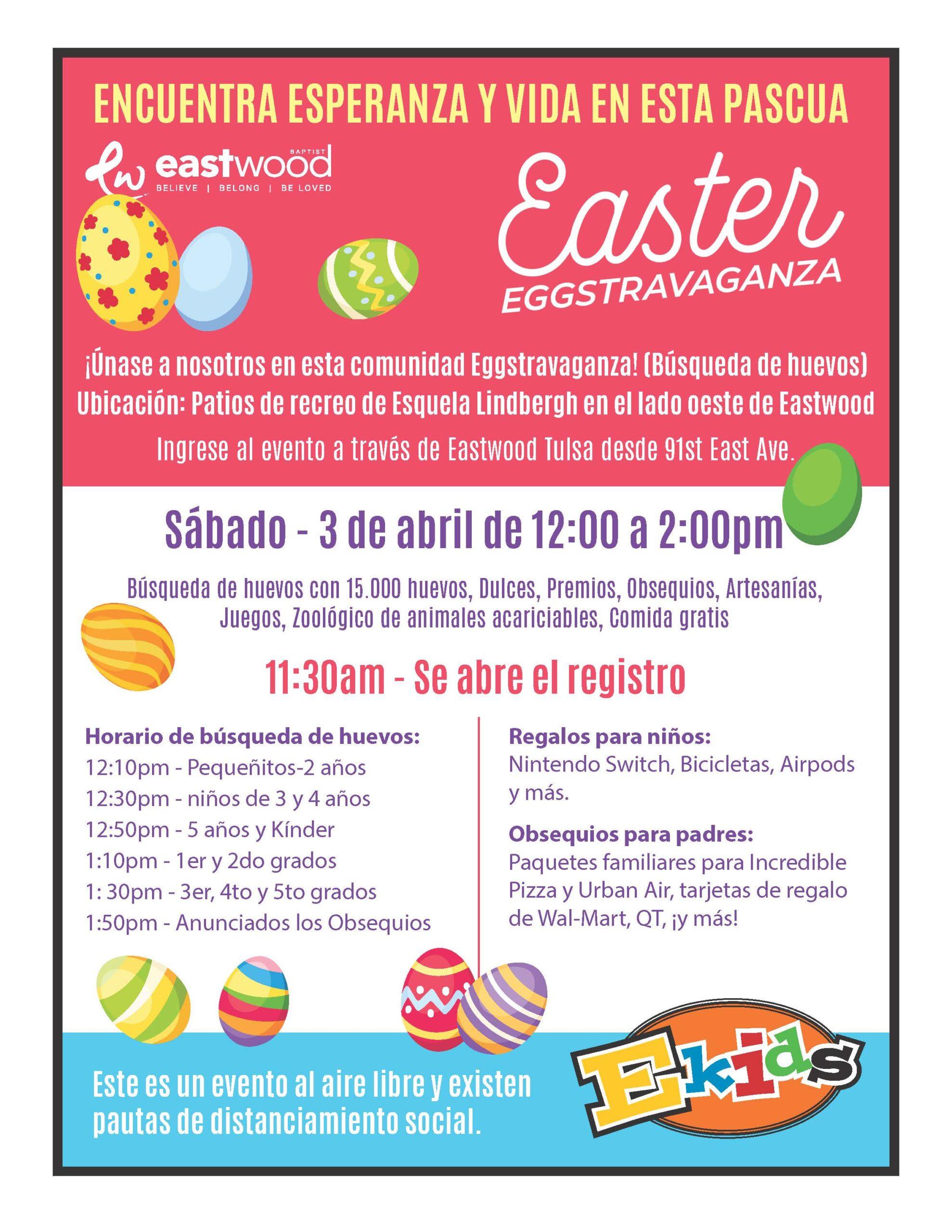 Eggstravaganza 2021 Espanol